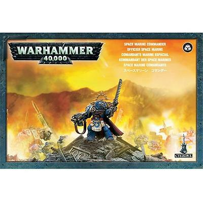 Space Marine Commander Warhammer 40k nuevo/sealed