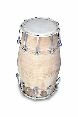 Dholak Drums~18 Bolt ~Made With Mango Wood~Dholki~Yoga~Bhajan~Kirtan~Mantra 0184