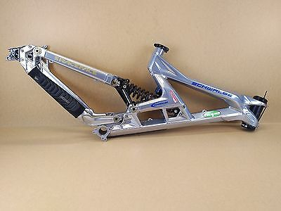 "Scott Gambler 26"" DH Downhill Freeride Bike Frame - Silver USED 072"