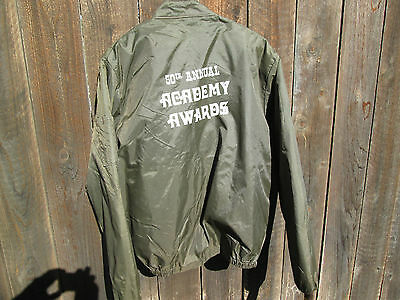 OSCARS 50th ACADEMY AWARDS Crew Jacket STAR WARS Annie Hall CLOSE ENCOUNTERS