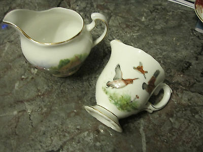 Two Small Quality Cream Jugs