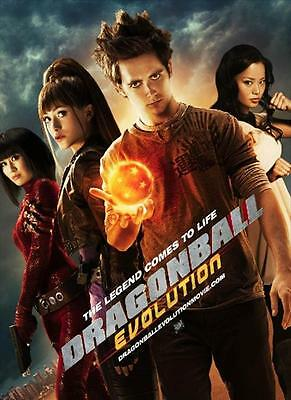 35mm DRAGON BALL EVOLUTION (LIVE ACTION) TRAILER/FILM/MOVIE/FLAT/TEASER/BANDE.