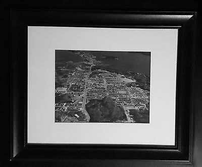 Aerial Photo of Yellowknife NWT 1967