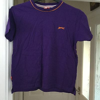 Purple Slazenger Tshirt Age 11-12 Years
