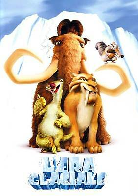 35mm ICE AGE L'ERA GLACIALE  TRAILER/FILM/MOVIE/FLAT/TEASER/BANDE. DISNEY PIXAR