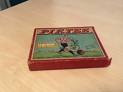 Antique Piktee or League Championship Football Card Game - VGC