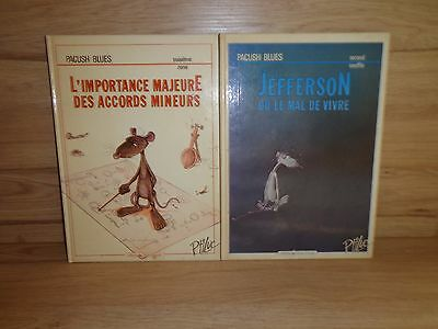 Lot bandes dessinées Pacush Blues Editions Vents d'Ouest