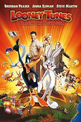 35mm LOONEY TUNES: BACK IN ACTION TRAILER/FILM/MOVIE/FLAT/TEASER/BANDE. DISNEY