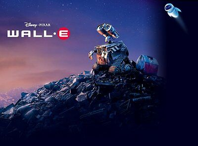 35mm WALL E  TRAILER/FILM/MOVIE/FLAT/TEASER/BANDE. DISNEY PIXAR