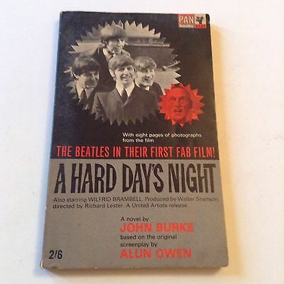 The Beatles Paper Back Book A Hard Days Night