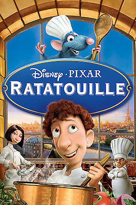 35mm RATATOUILLE (POLICY) TRAILER/FILM/MOVIE/FLAT/TEASER/BANDE. DISNEY PIXAR
