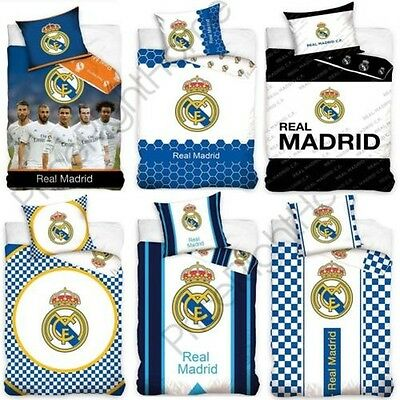 OFFICIEL REAL MADRID Simple & double housse couette FOOTBALL literie