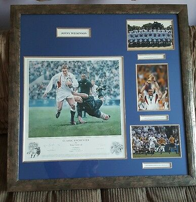Classic Encounter By Peter Cornwall Jonny Wilkinson ltd edition England Rugby