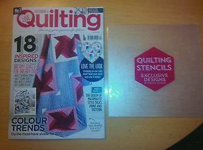 Patchwork & Quilting Craft Magazine Issue 44 + FREE GIFT. March 17 * NEW *