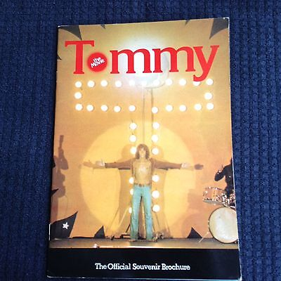 Tommy - The Movie Official Souvenir Brochure - 1975