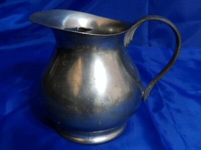 Vtg KMD DAALDEROP TIEL ROYAL HOLLAND PEWTER Jug or PItcher w/ Ice Guard - Marked