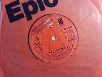 The Jacksons Uk Epic Demo 45 Music Takin' Over 1977 Vg+