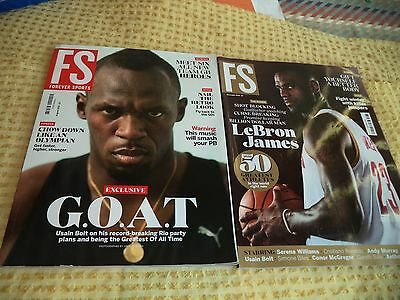 Forever Sports Magazines 2016 x2
