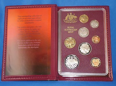 1989 Royal Australian Mint Coin Set - Proof