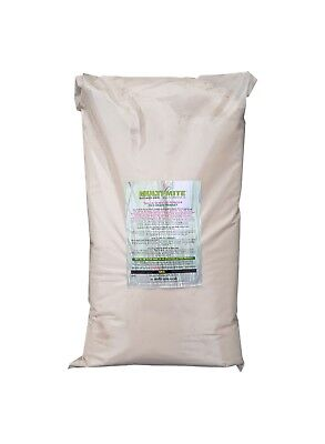 MULTI MITE Diatomaceous Earth 5KG DE Red Mite Worm Powder Feed Grade FAST DELIV