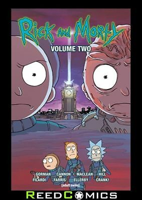 RICK AND MORTY VOLUME 2 GRAPHIC NOVEL New Paperback Based On The Animated Show
