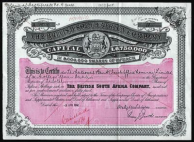 1942 The British South Africa Company