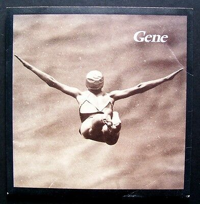 """GENE 'OLYMPIAN' 1995 7"""" VINYL SINGLE numbered limited excellent"""