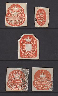 Gb-Embossed Issue Selection--Used