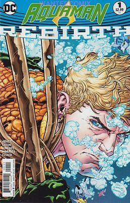 Aquaman Rebirth #1 June 2016 First Print Dan Abnett Dc Comic Book Sold Out New
