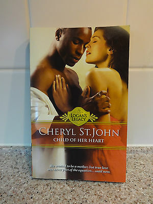 CHILD OF HER HEART by CHERYL ST. JOHN Logan's Legacy Paperback BOOK