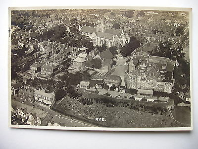 RYE - 1929 aerial real photograph
