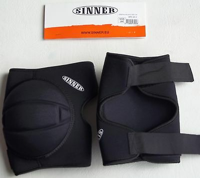 Sinner Adult Unisex Knee Pads Guards Snowboard Ski Impact Protection One Pair