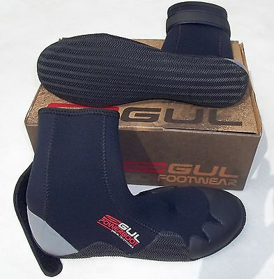GUL UK 9 SAIL SURF WATERSPORTS 5mm NEOPRENE WETSUIT POWER BOOTS AQUA SHOES BOOT