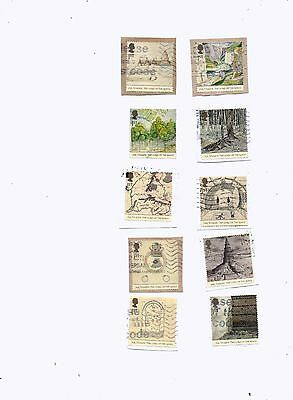 GREAT BRITAIN STAMPS 2004 LORD OF THE RINGS USED from Kiloware