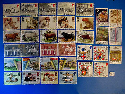 1984 GB Commemoratives: Complete year set (all sets ex-fdc)  #32