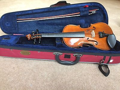 Stentor Student 2 Violin Outfit 1/2 Size - 2 bows (one brand new Hidersine bow)