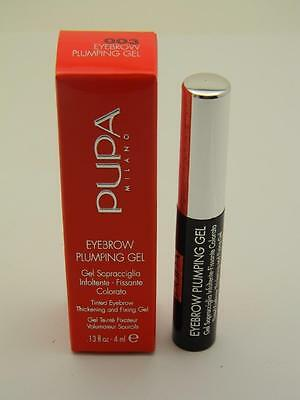 PUPA Eyebrow Plumping Thickening & Fixing Gel 003 Dark Brown - 7ml