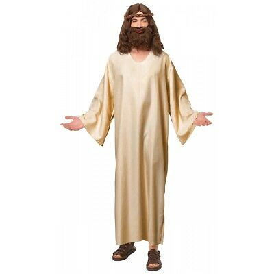 Jesus Costume Adult Robe Easter Halloween Fancy Dress