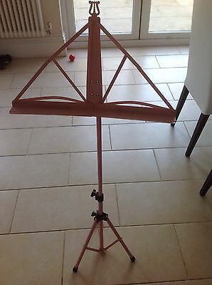 Childs Foldable Pink Music Stand