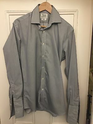"T.m.lewin Shirt  Size 15.5"" Slim Fit Non-Iron"