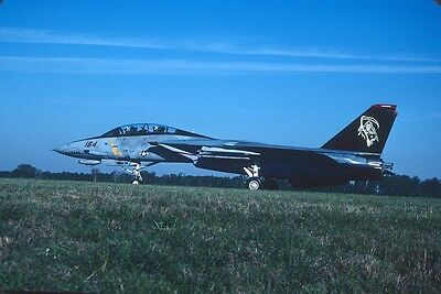 Original Kodak aircraft slide,F-14D 164342  AD-164 VF-101 in Oct-2004