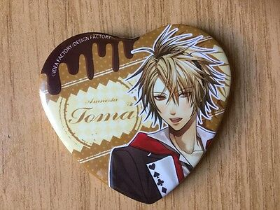 AMNESIA Heart-shape Badge/Button in Herzform, Toma,  OVP (sealed)