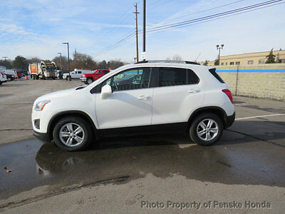 2015 Chevrolet Trax FWD 4dr LT FWD 4dr LT SUV Automatic Gasoline 4 Cyl WHITE