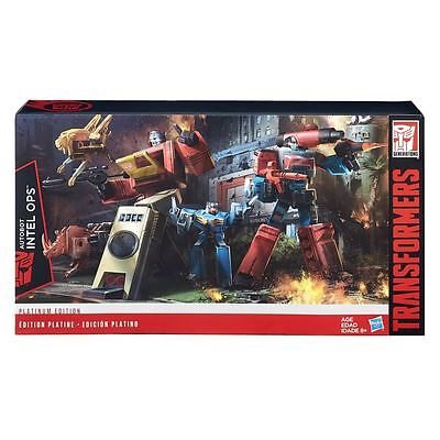 Perceptor And Blaster - Autobot Intel Ops  - Platinum Edition - Transformers
