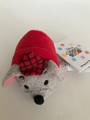 Disney Store The Aristocats Roquefort Tsum Plush 3 1/2'' New with Tags