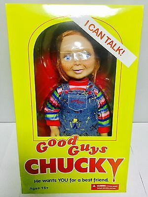 "Child's Play 15"" Good Guys Talking Chucky Mega Scale Doll Figure 2016 Mezco"