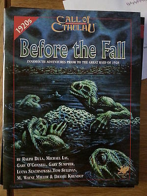 Before the Fall  Before the Fall: call of cthulhu, chaosium nr mint