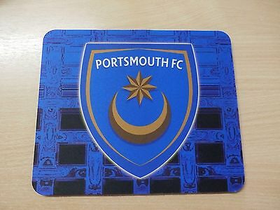 New Portsmouth Fc Soft Computer Mouse Mat
