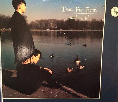 Tears For Fears Mad World Original 12 inch Single
