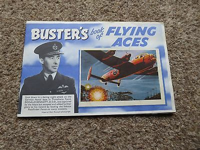 Buster's book of Flying Aces free gift presented with Buster comic 1960's